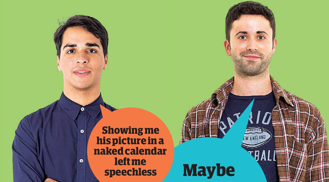 Guardian Blind Date review: Malik and Jake