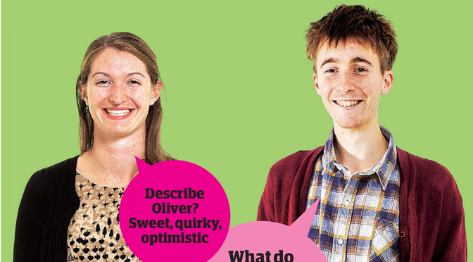 Guardian Blind Date review: Oliver and Elizabeth
