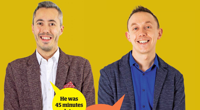 New Guardian Blind Date review: Scott and Peter