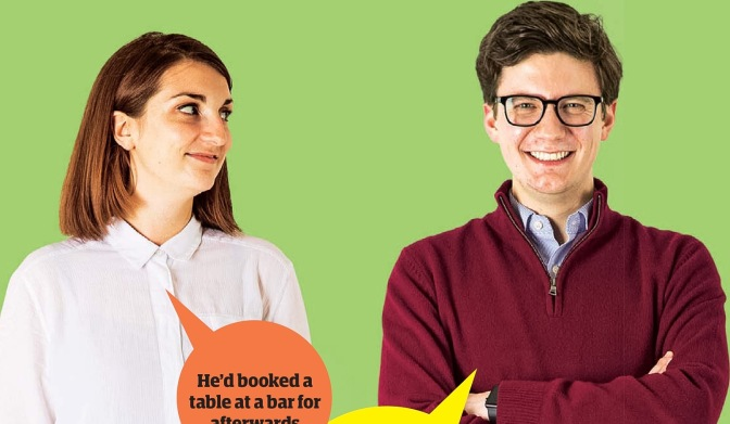 Guardian Blind Date review: Ella and Matthew