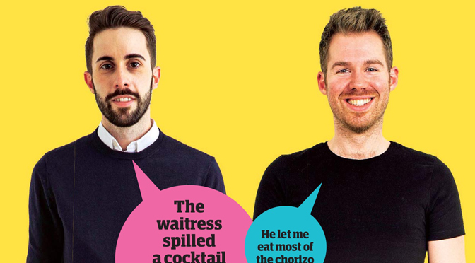 Guardian Blind Date review: Valerio and Matt