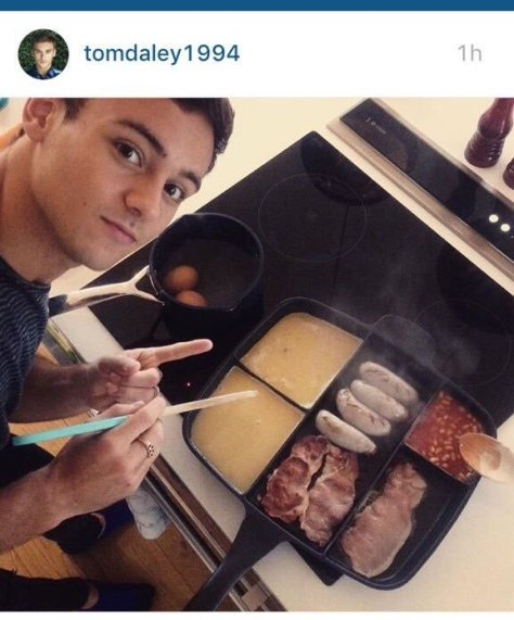 Tom Daley/Instagram