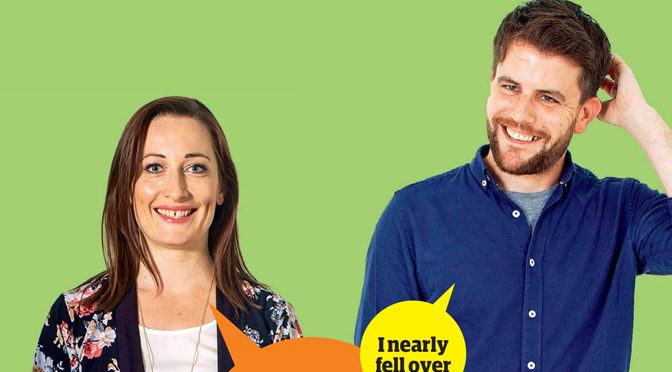 Guardian Blind Date review: Simon and Hannah