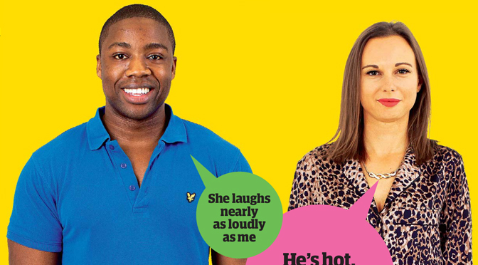 Guardian Blind Date review: Abolade and Sam