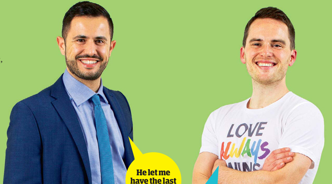 Guardian Blind Date review: Marco and David