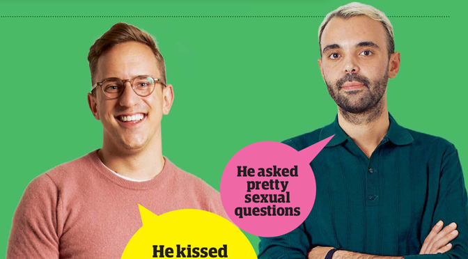 Guardian Blind Date review: Patrick and Giuseppe