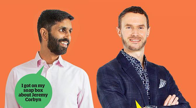 Guardian Blind Date review: Jahangir and David